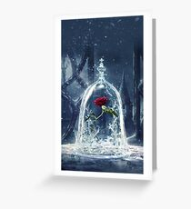 ice flower Greeting Card