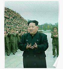 Kim Jong Un- Bloods Poster