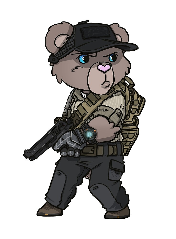 Sgt. Marshmallow by hiwez