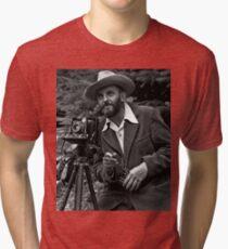 Ansel Adams Takes a Picture Tri-blend T-Shirt