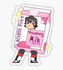 Keith strawberry milk  Sticker