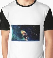 Calvin and Hobbes-In Space Graphic T-Shirt