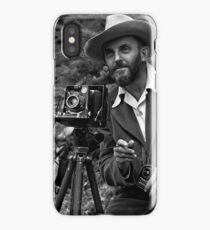Ansel Adams Takes a Picture iPhone Case/Skin