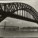 Hell Gate Bridge New York City 1935 Photograph by T-ShirtsGifts