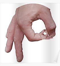 Circle Finger Game Poster