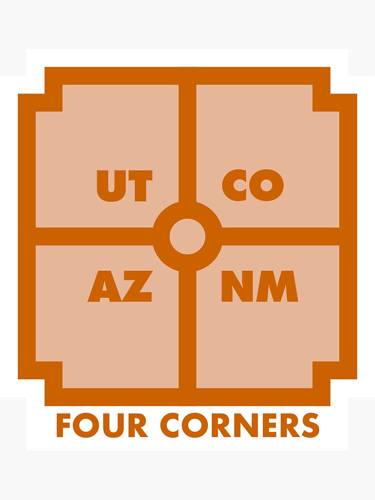 Four Corners - Orange by bypopulardemand