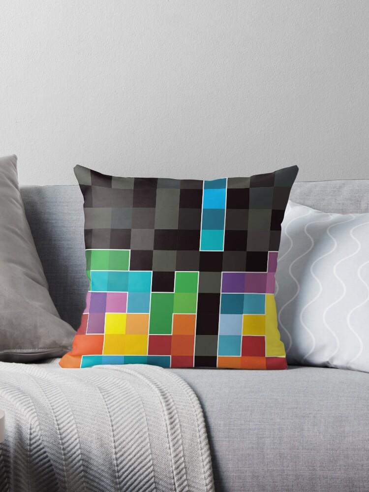 Mosaik 1494 - Tetris-Mosaik von Carl Huber