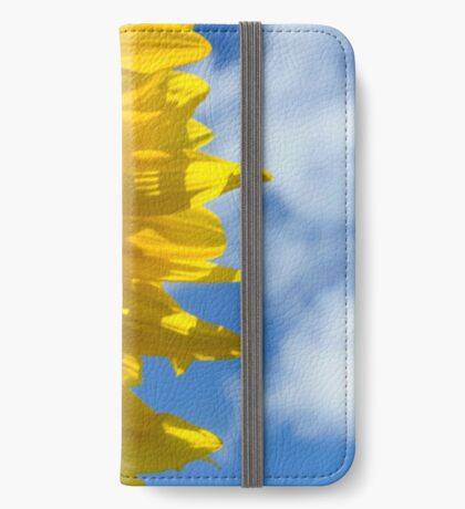 Sunny Faces and Blue Skies iPhone Wallet