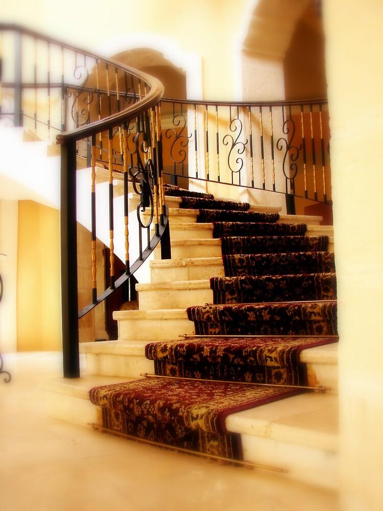 Stairway in Playa Del Carmen, Royal Hideaway by seagrl44