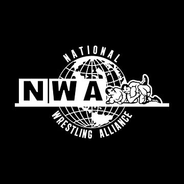 National Wrestling Alliance Logo - WHITE by kagegfx
