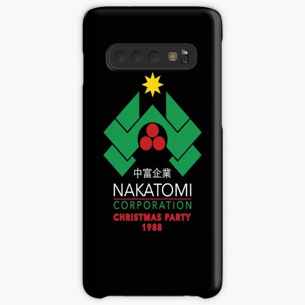Nakatomi Corporation - Christmas Party Case & Skin for Samsung Galaxy