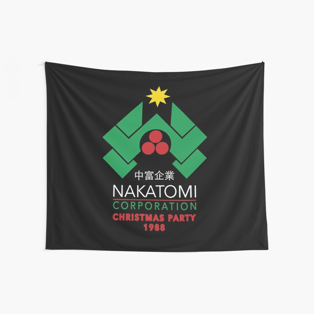 Nakatomi Corporation - Christmas Party Wall Tapestry