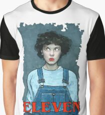 Eleven from Stranger Things Graphic T-Shirt