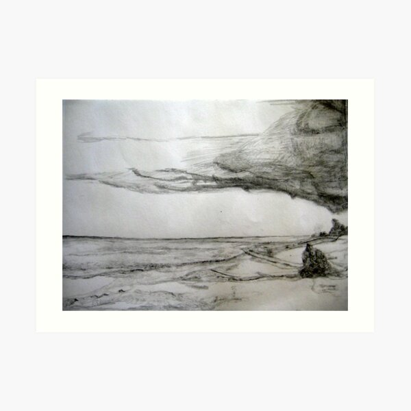 Beach /7 Art Print