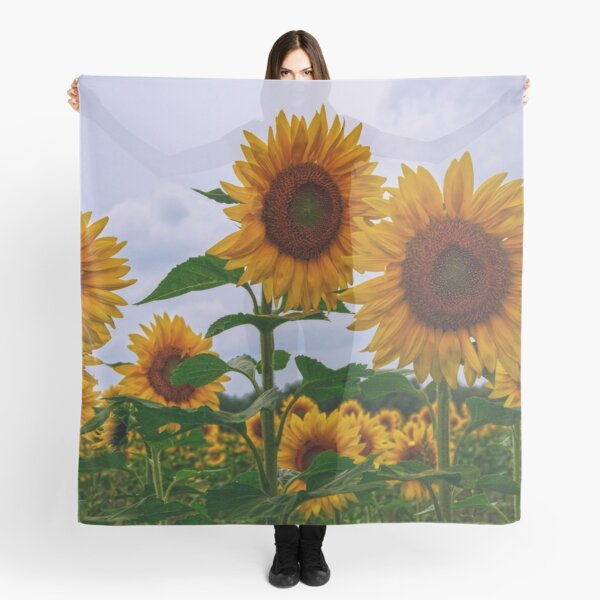 Sunny Faces Scarf