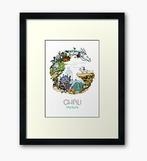 Tribute Color (with caption) Framed Print