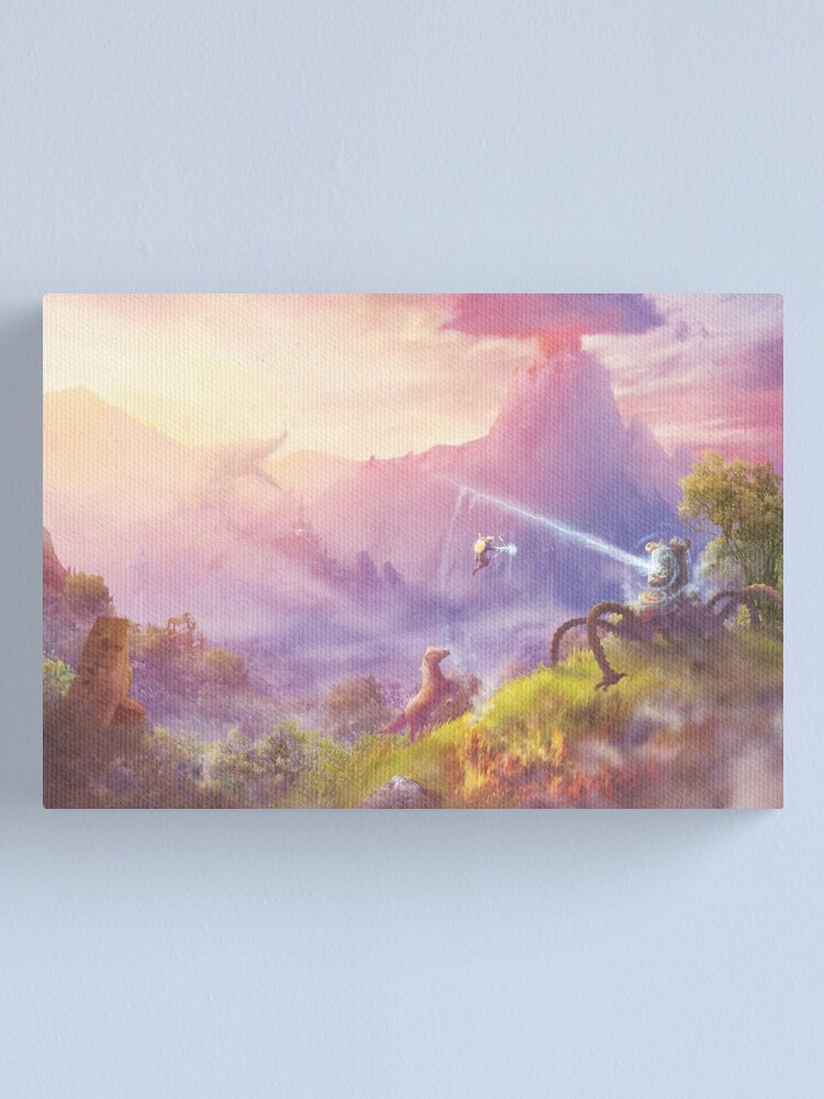 Alternate view of Breath of Adventure  Canvas Print