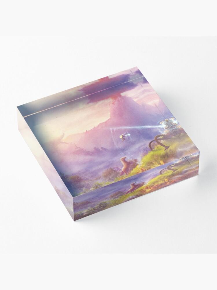 Alternate view of Breath of Adventure  Acrylic Block