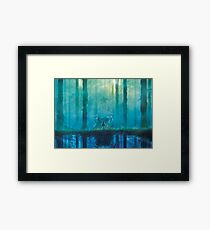 Upside Down Nightmare  Framed Print