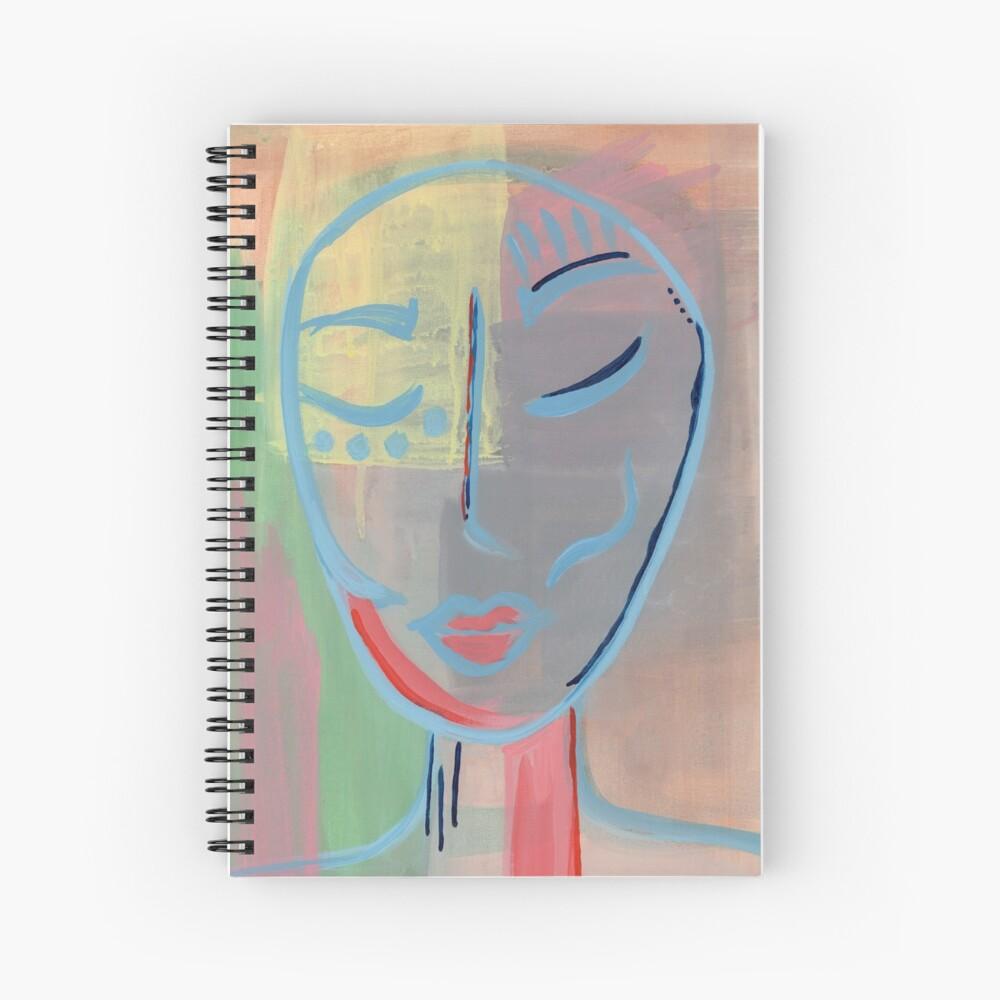 Nubian Princess Warrior Spiral Notebook