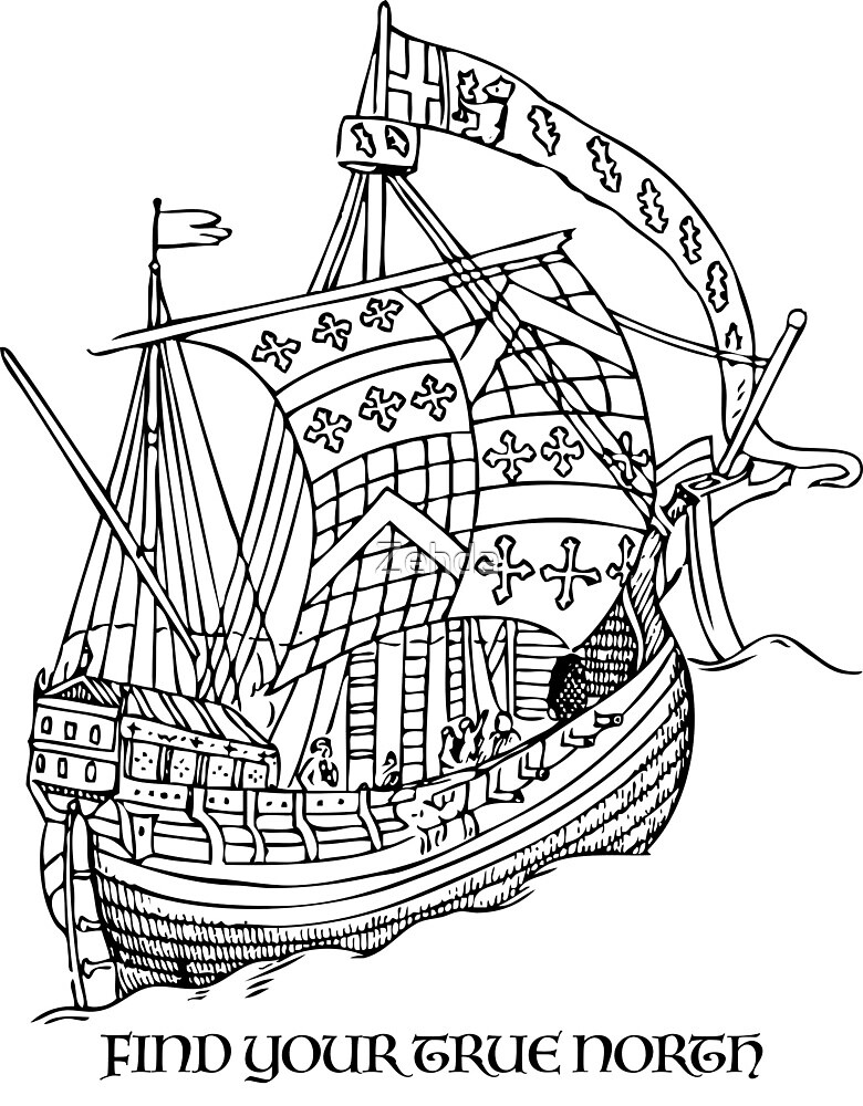 True North Ship by Zehda