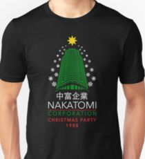 Nakatomi Corporation Christmas Party Snowflake Tower Unisex T-Shirt