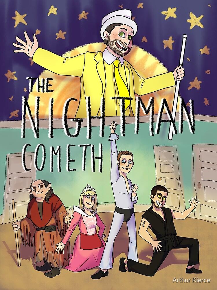 Night Man Cometh by Zoe Kierce
