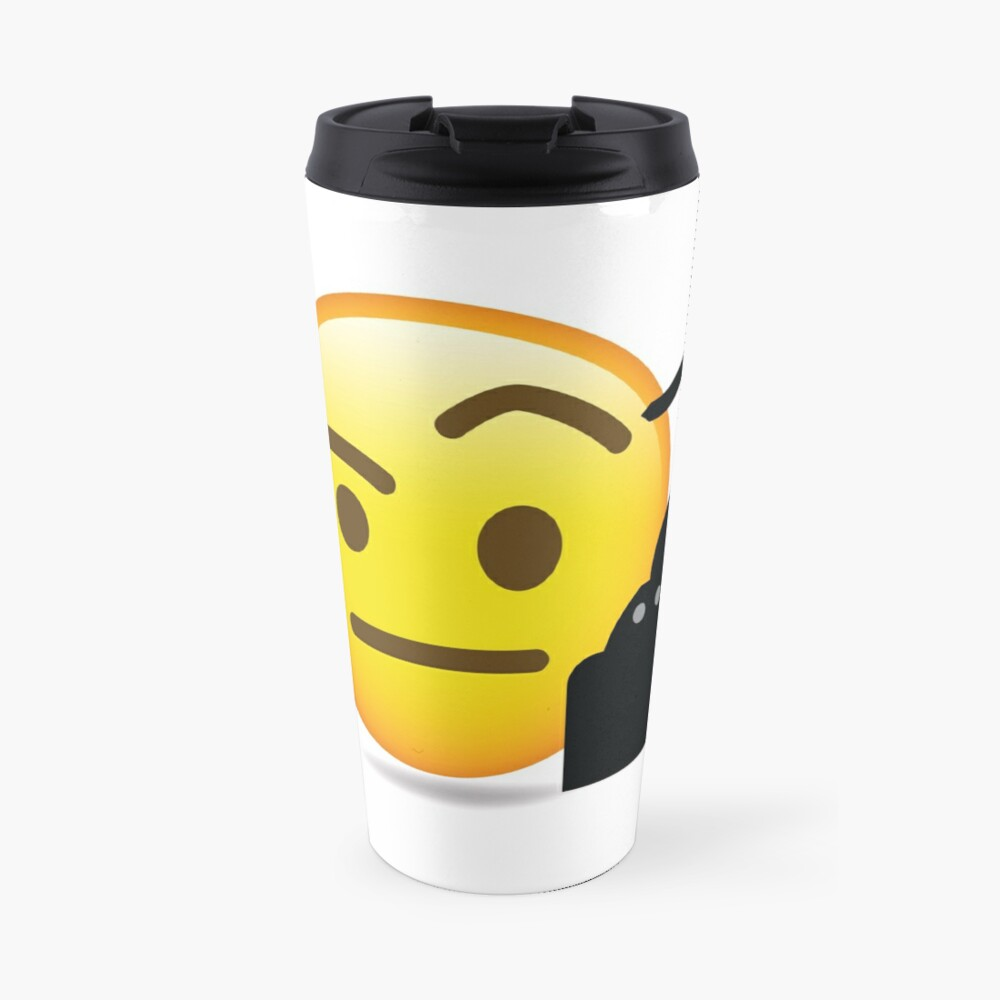 Pirat Emoji Thermobecher