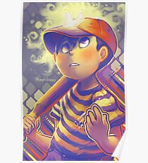 NESS EARTHBOUND Poster