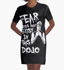 Angst existiert nicht in diesem Dojo T-Shirt Kleid