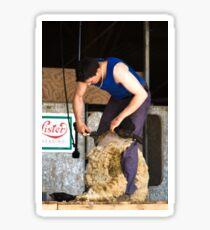 Shearer Sticker