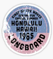 Honolulu Beach Sticker