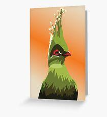Greenbird Greeting Card