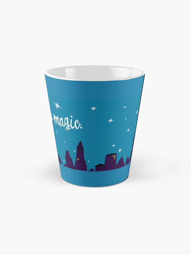 Alternate view of Coffee is Magic, Bewitched TV  Mug