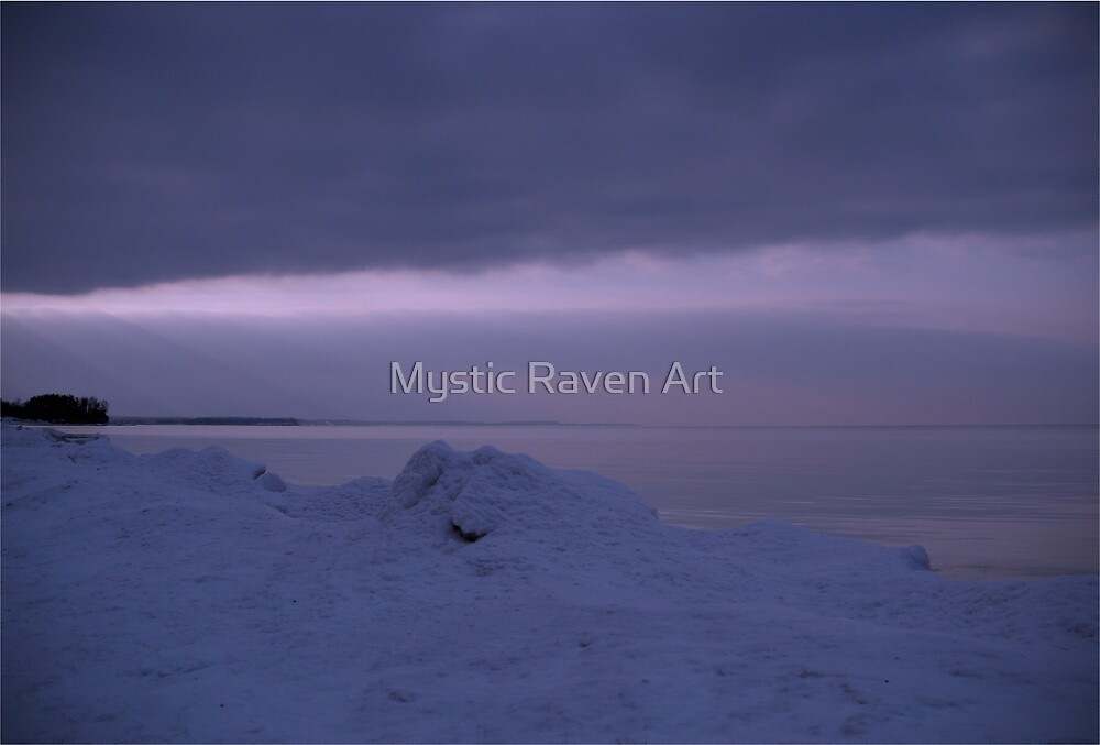 Winters Night by Mystic Raven Art