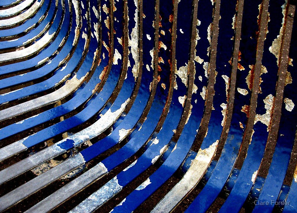 Metal ribs by Clare Forder