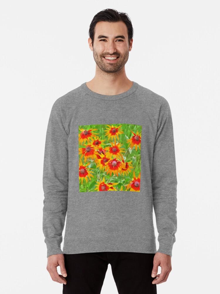 Alternate view of Flowers Lightweight Sweatshirt