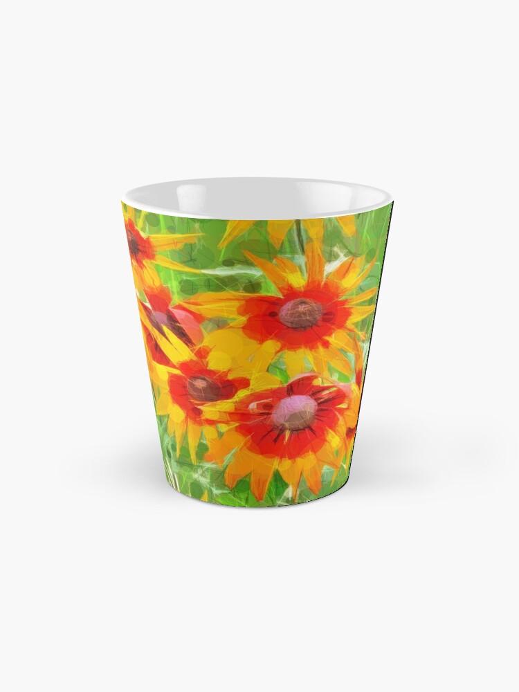 Alternate view of Flowers Mug