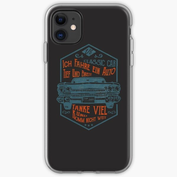 Deep and wide iPhone Soft Case