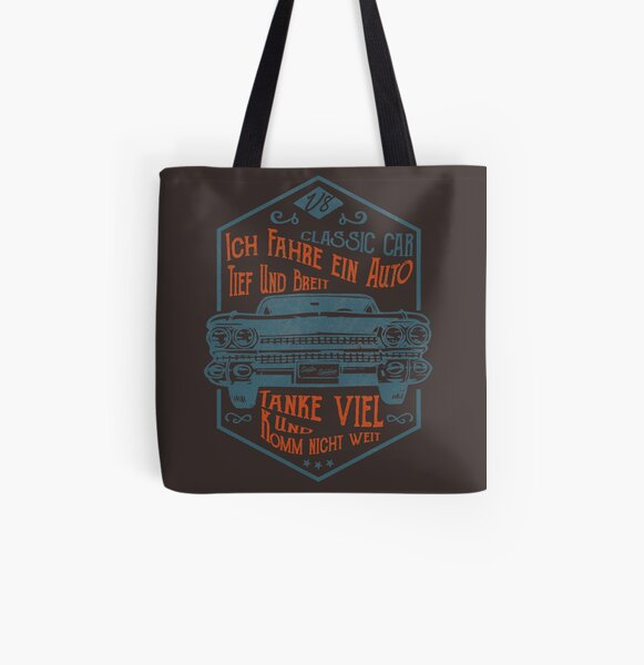 Deep and wide All Over Print Tote Bag