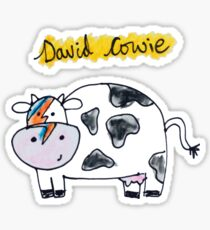David Cowie Sticker