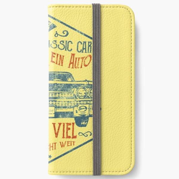 Deep and wide iPhone Wallet