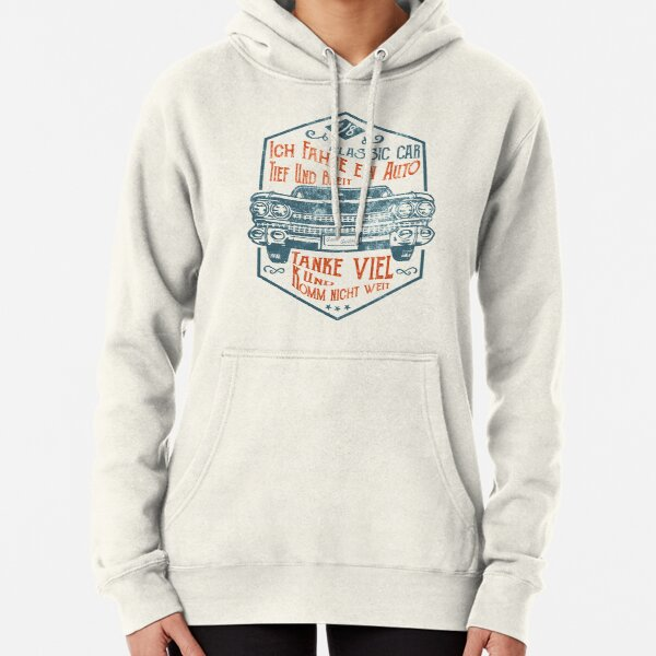 Deep and wide Pullover Hoodie