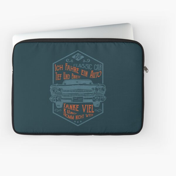 Deep and wide Laptop Sleeve