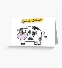 David Cowie Greeting Card