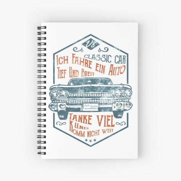 Deep and wide Spiral Notebook