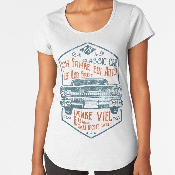 Deep and wide Premium Scoop T-Shirt