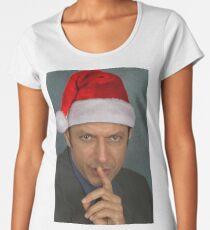 Christmas Jeff Goldblum Women's Premium T-Shirt