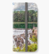 Dam on the Ottauquechee River iPhone Wallet/Case/Skin