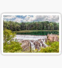 Dam on the Ottauquechee River Sticker